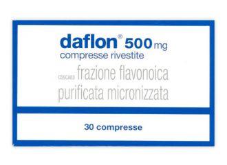 Daflon 30 compresse Rivestite 500mg