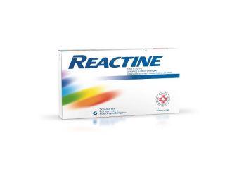 Reactine 6 Compresse da 5 Mg +120 Mg Rilascio prolungato