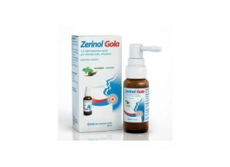 Zerinol Gola Spray Flacone 20 Ml
