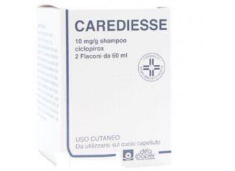 CAREDIESSE Sh.10mg/g 2x60ml