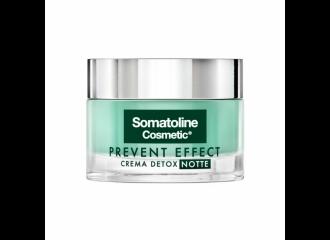 Somatoline Cosmetics Prevent Effect Crema Detox Notte 50 ml