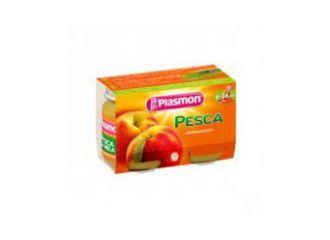 Plasmon Omog Pesca 2x104g