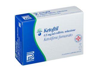 Ketoftil collirio 25 flaconcini  0,5 MG/ML