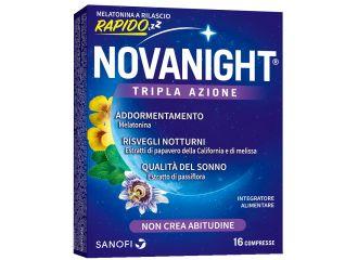 Novanight 16 compresse a rilascio rapido