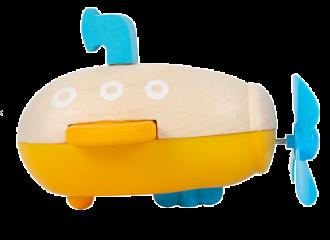 Legler Sottomarino con carica - Gioco in legno per bimbi