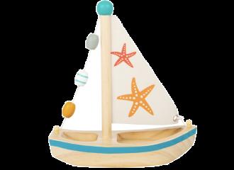 Legler Barca A Vela Con Stella Marina