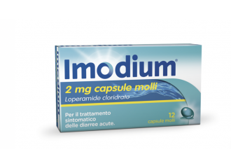 Imodium 12 capsule molli 2 mg