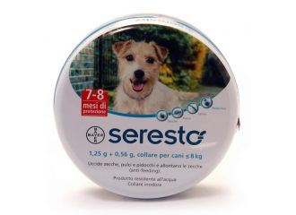 Seresto Cani 1,25 + 0,56 g 1-8 Kg