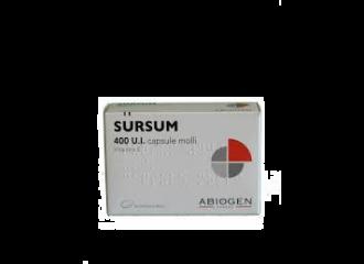 Sursum 30 compresse molli 400UI