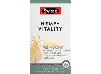 Swisse Hemp Vitality 60 Capsule